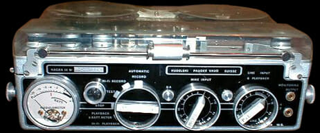 Picture of portable tape recorder