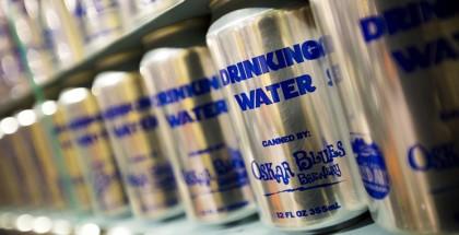 canned water oskar blues