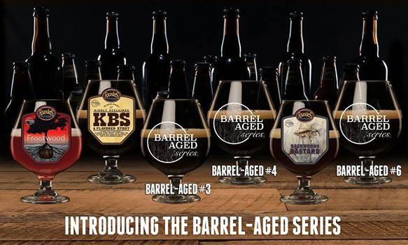 2017 Founders Brewing Barrel Aged Series