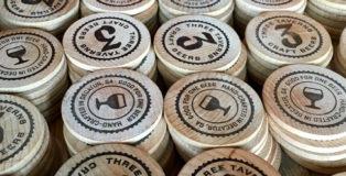 3 Taverns Brewing tokens
