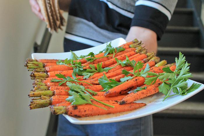 Dry Rub Carrot w/ aged hop vinegar