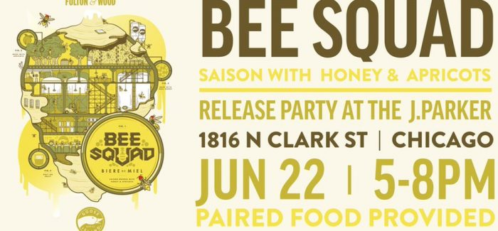 Goose Island releases latest Fulton & Wood Series beer: Bee Squad