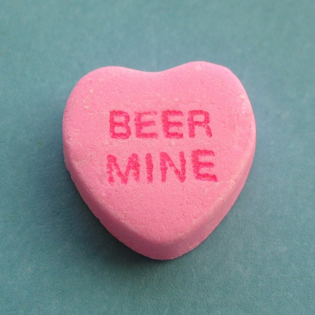 Beer Mine Beer Themed Valentine's Day Card