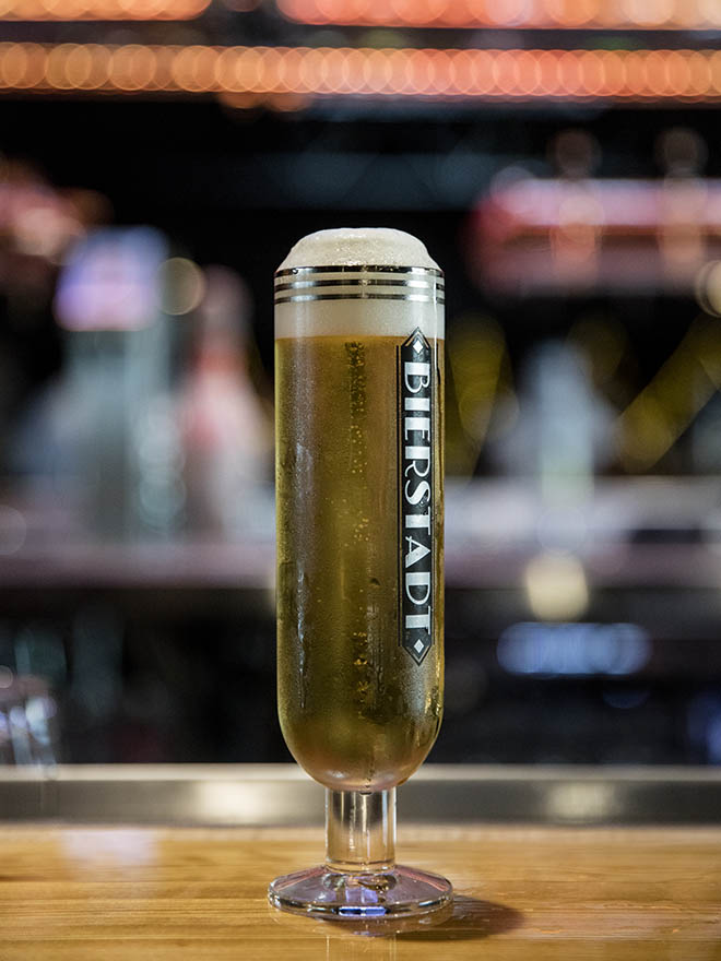 The brewery's lager will be served on draft across Denver in branded glassware only.