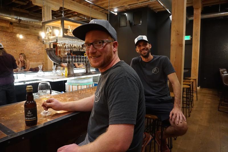 Amalgam Brewing Phillip Joyce and Eric Schmidt
