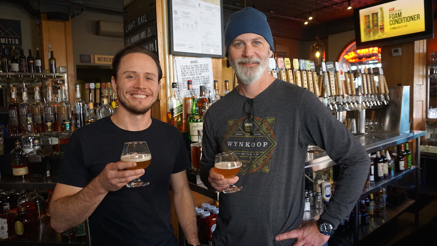 Wynkoop Brewers Charles McManus and John Sims