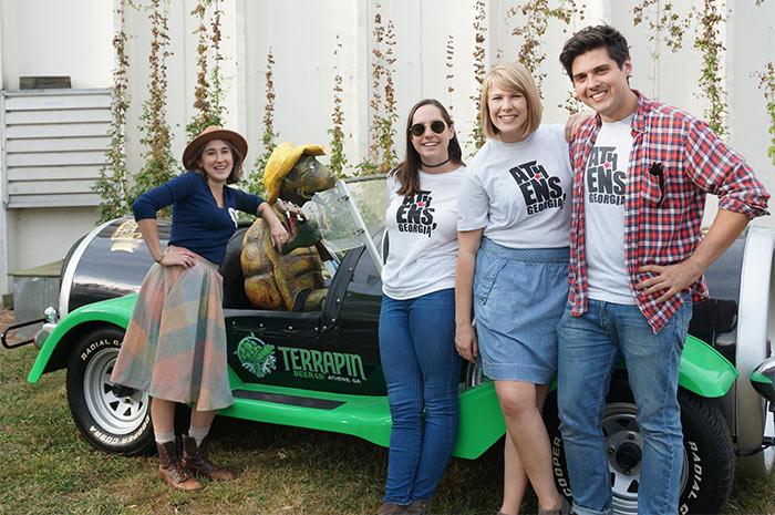 Event recap terrapin beer co hop harvest for Car craft athens ga