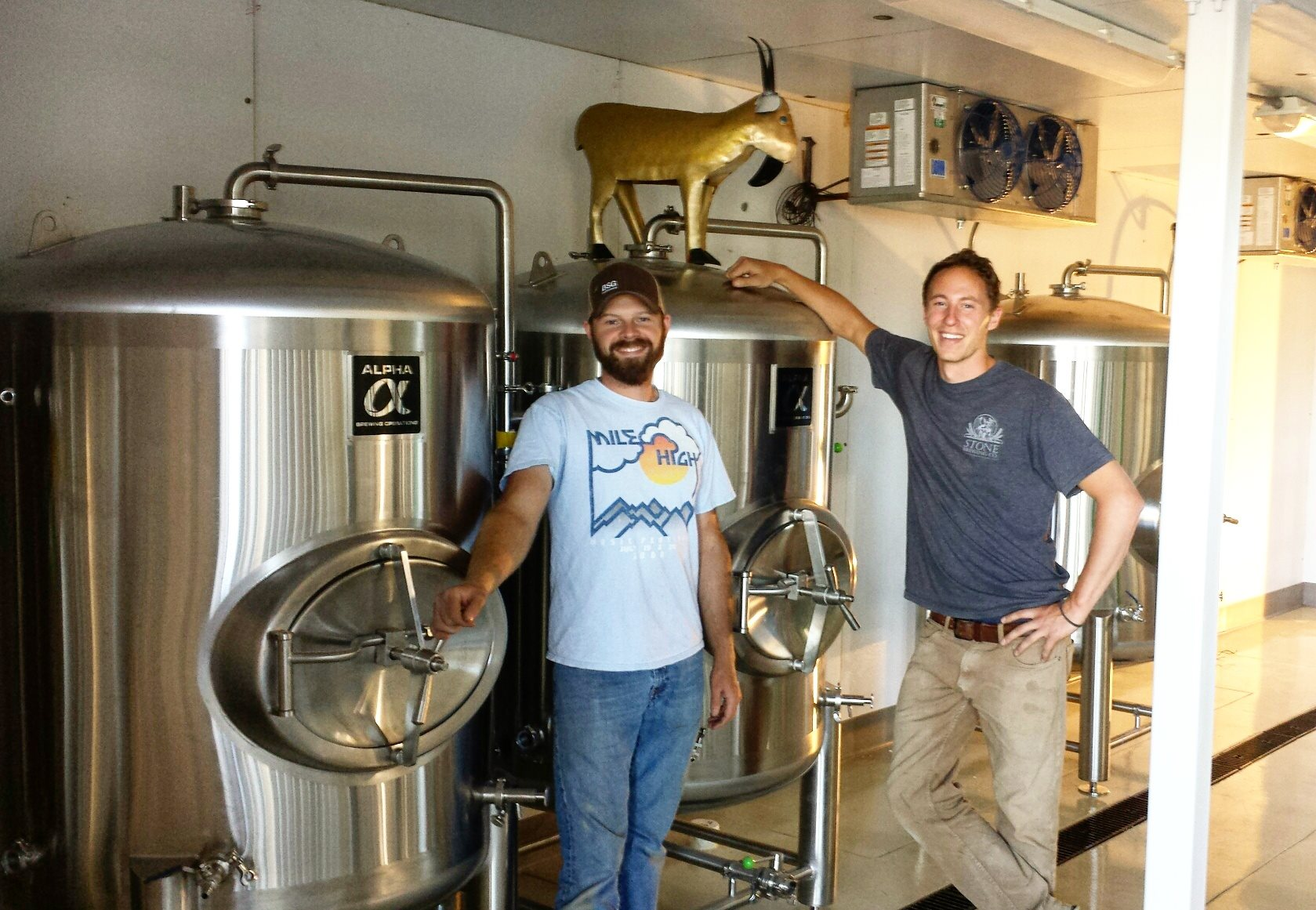 Photo courtesy of Gilded Goat Brewing Company