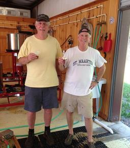 Steve Weber and Chipley McKnight