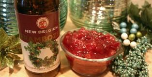 Cranbozen Sauce Cooking with Beer