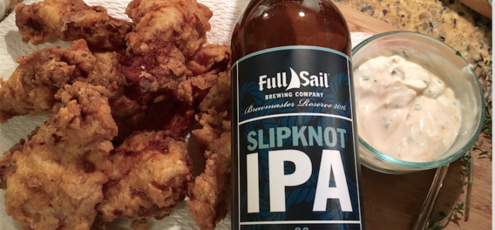 Cooking with Beer   Hoppy Fried Chicken