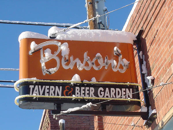 Benson's Tavern & Beer Garden Salida Chaffee County Colorado