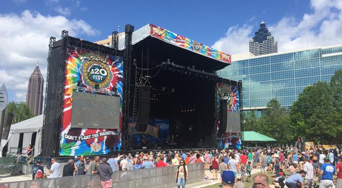 Dawes jams on sunny Day 2 of 420 Fest.