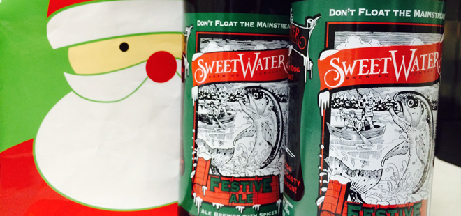 12 Beers of Christmas Day 5 | SweetWater Festive Ale