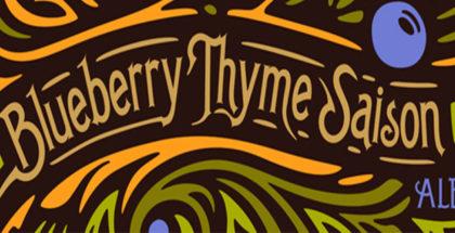 Terrapin Beer Co. Blueberry Thyme Saison