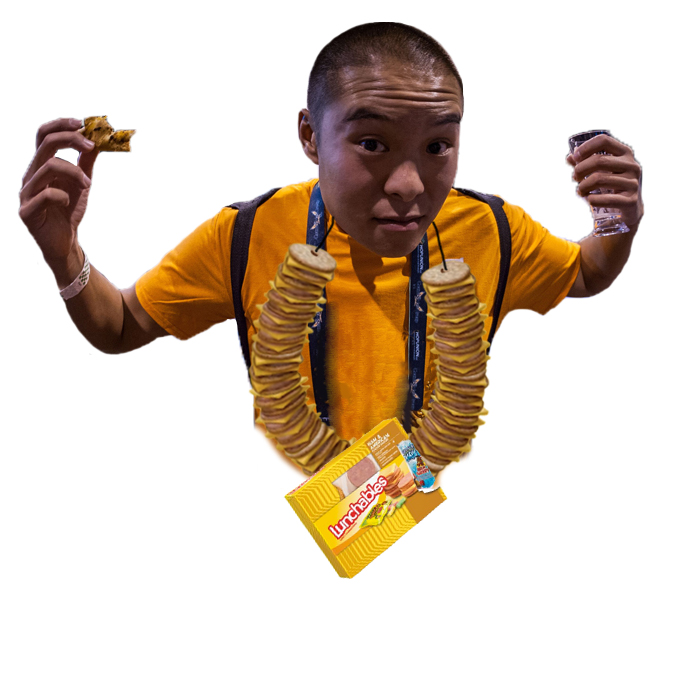 Lunchables Necklace