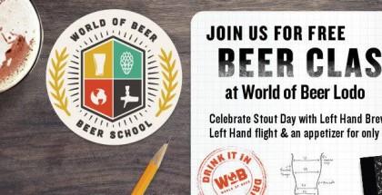 #PourHard Beer School at World of Beer LoDo