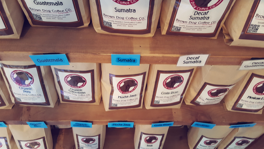 brown dog coffee co beans salida chaffee county colorado