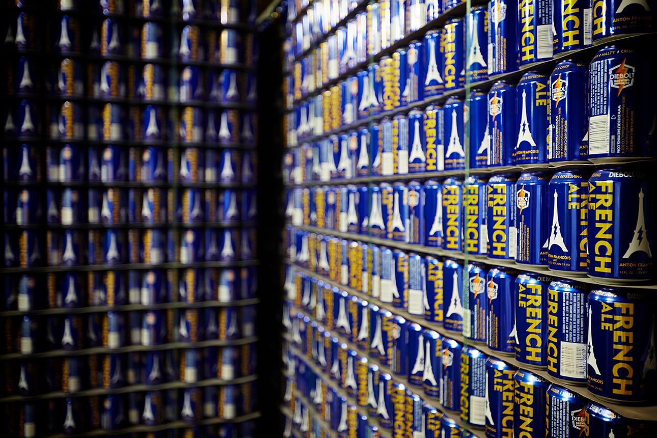 Diebolt Brewing Cans