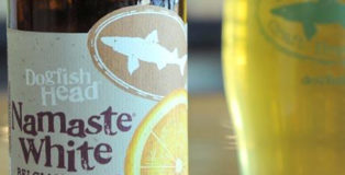 dogfish head namaste white belgian style white ale