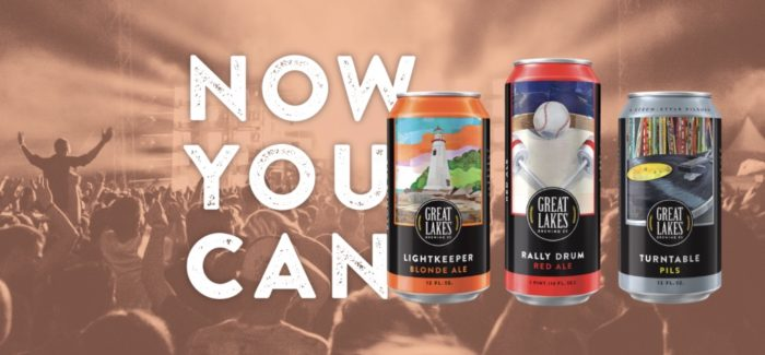 Great Lakes Brewing Cans Are Now Available!