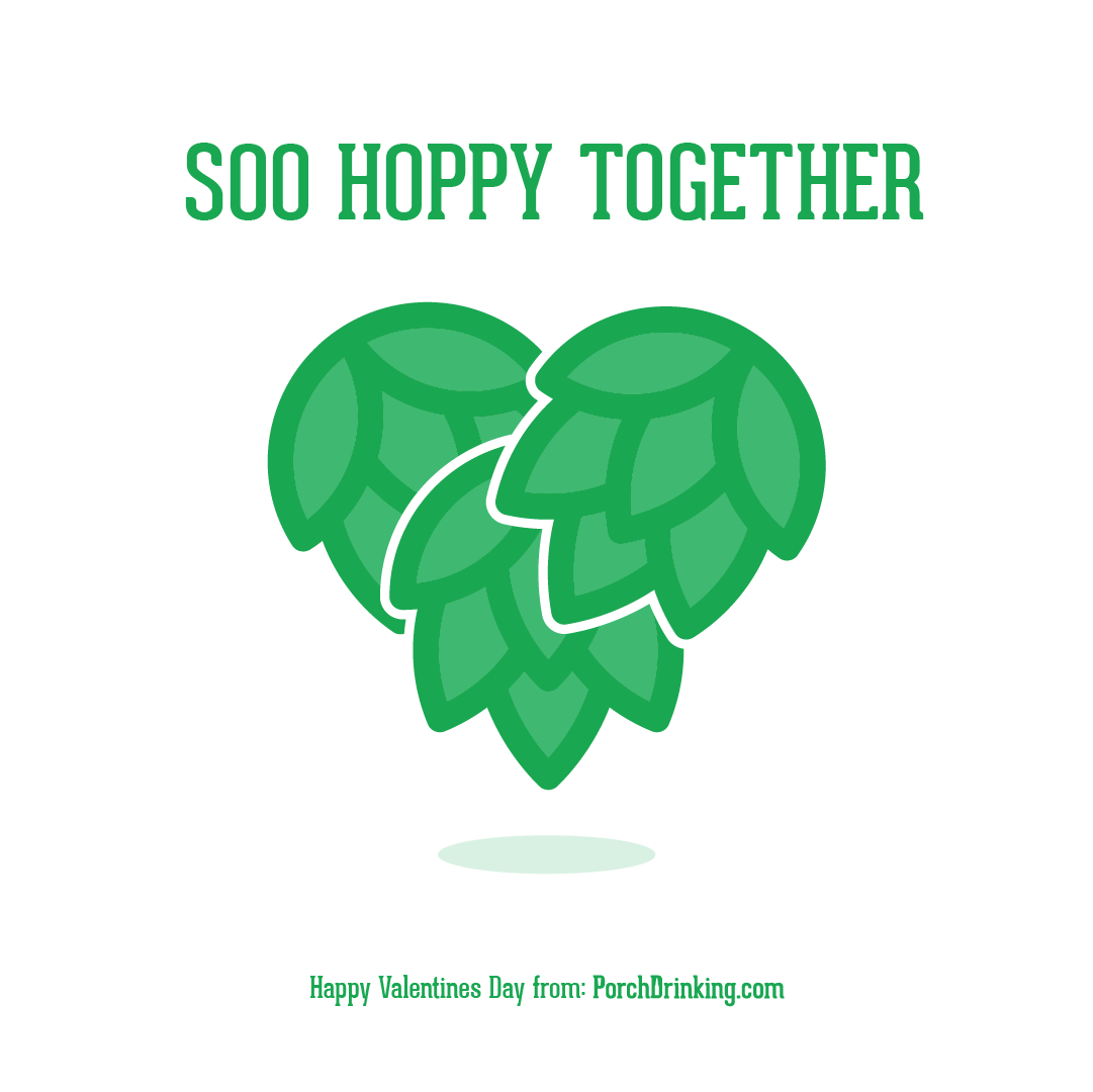 phillipthedesignercom so hoppy together beer themed valentines day cards
