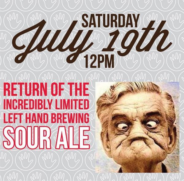 left hand - sour ale - dbb - 7-19-14