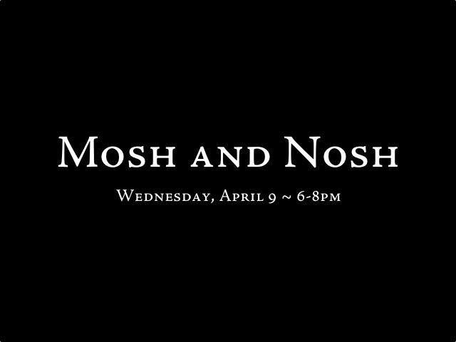 mosh & nosh - cbc 2014