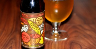 New Belgium Lips of Faith Golden Ale brewed with Hof Ten Dormaal