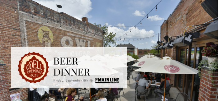 Event Preview | Odell Beer Dinner at Mainline Ale House