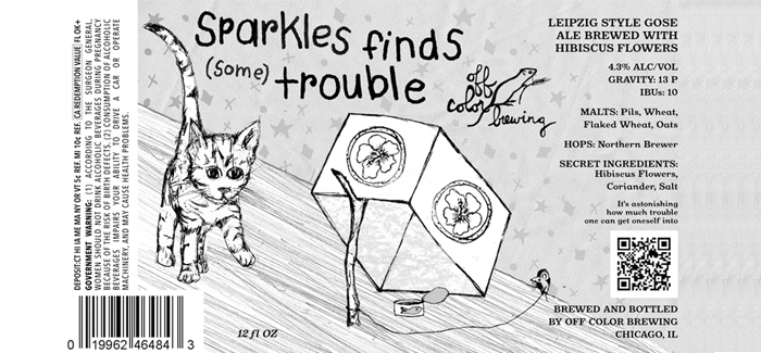 off color brewing sparkles finds some trouble hibiscus gose - Off Color Cartoons