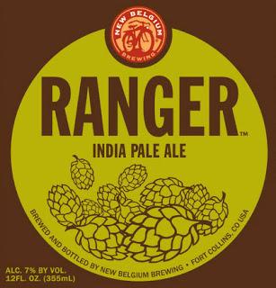 ranger ipa New Belgium Brewing
