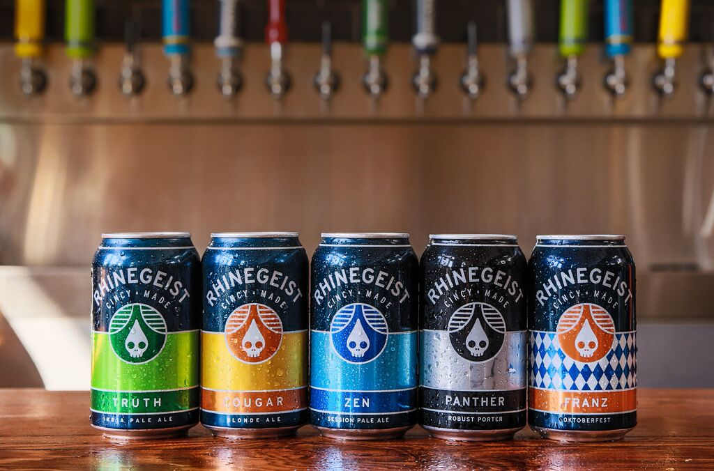 rhinegeist brewery cans