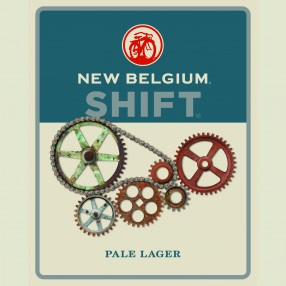 Shift Pale Lager New Belgium Brewing