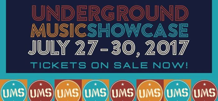 2017 Daily Guide to The Underground Music Showcase