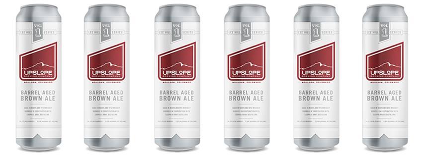 upslope - lee hill barrel aged brown - dbb - 07-2014