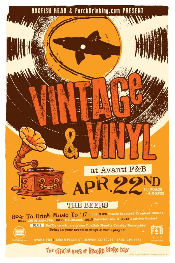 vintage and vinyl record store day 2017