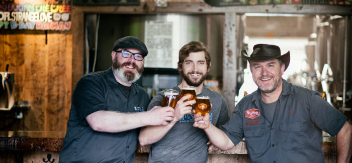 Wit's End Brewing Moves in with Strange Craft Beer