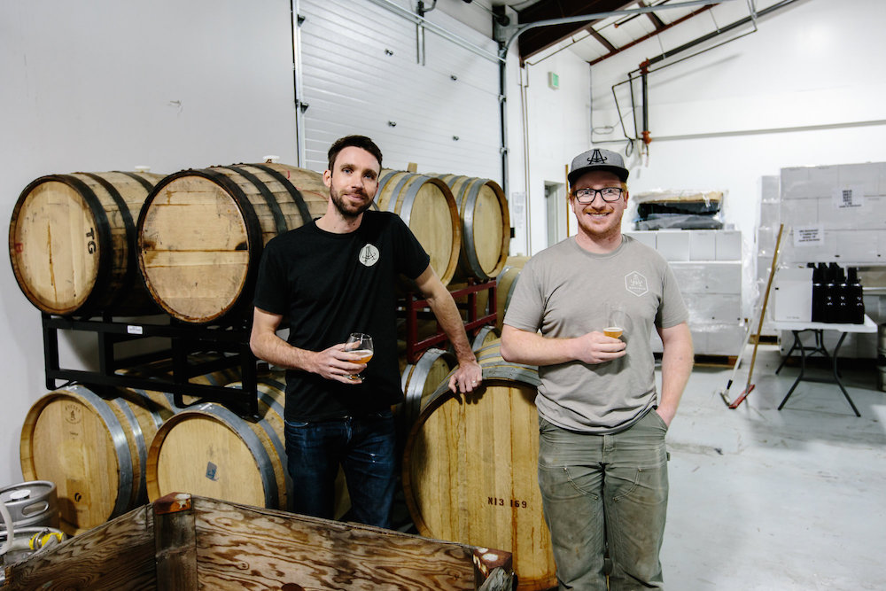 Phillip Joyce and Eric Schmidt of Amalgam Brewing