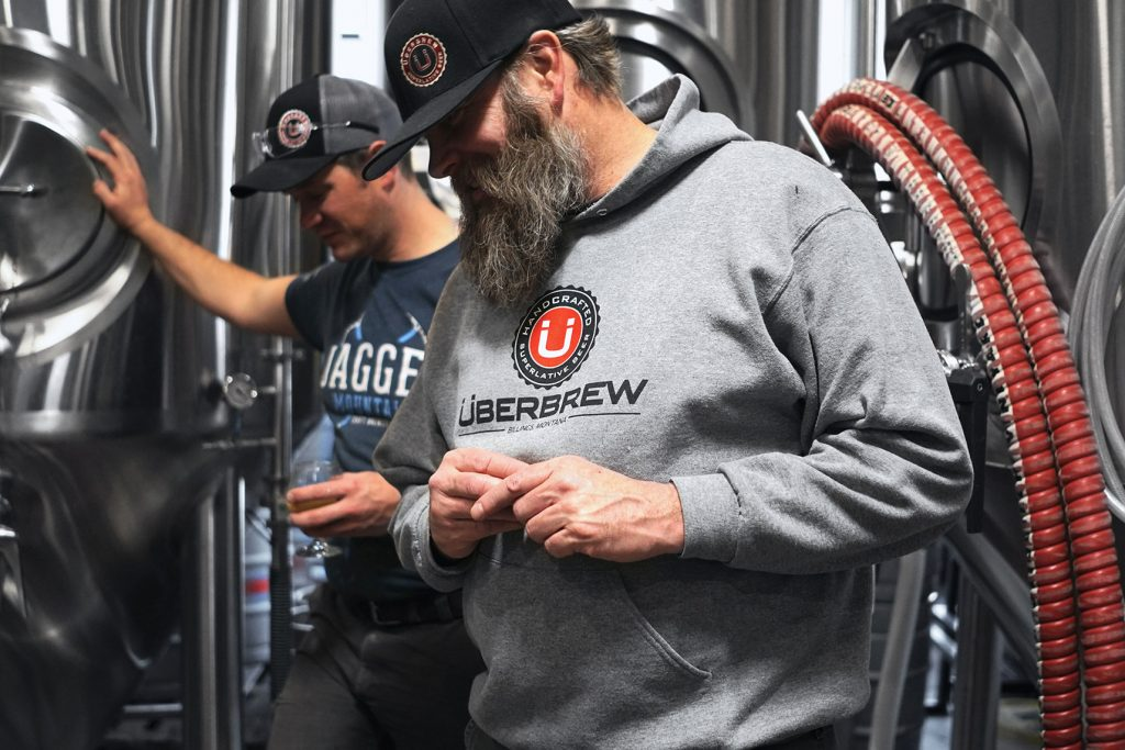 Jagged Mountain Brewery & Uber Brew - Justin Graziano, Beer Breath Co