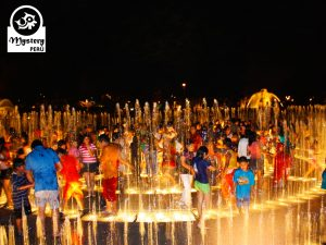 Guided Tour to Lima by night and The Magic Water Park