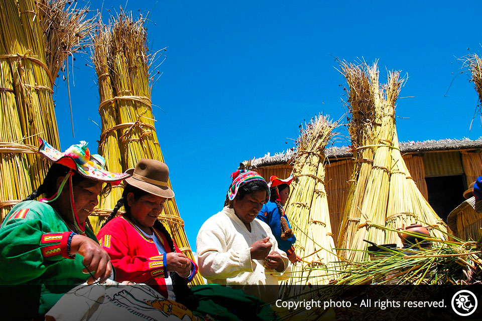 Full Day Boat Excursion to The Uros Floating Islands