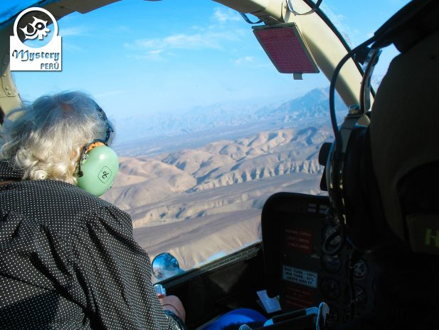 Nazca Lines Flight with a helicopter.
