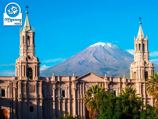 City Tour of Arequipa Peru.