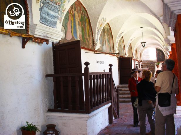Exploring the Monastery Santa Catalina.