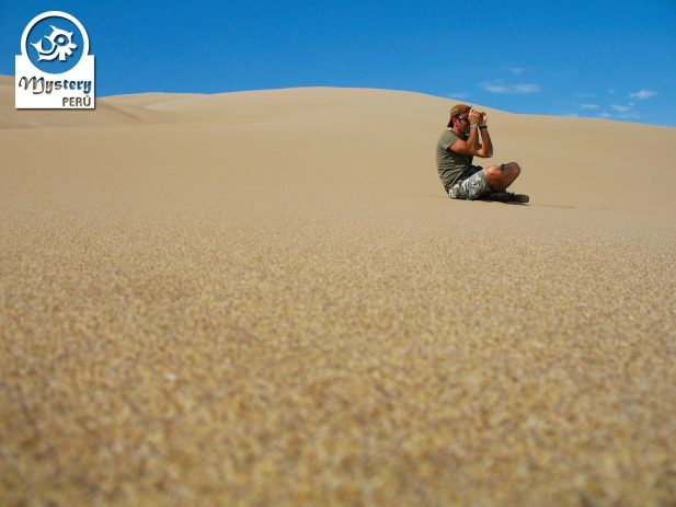 Sandboarding Tour to Cerro Blanco in Nazca.