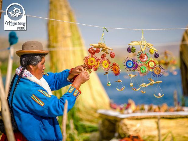 Souvenirs on the Uros Islands