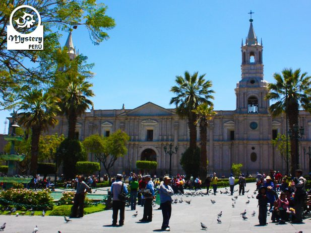 Visit to the city of Arequipa.