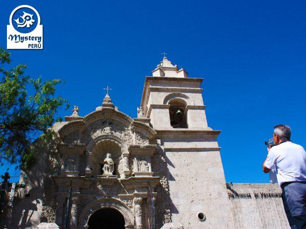 Yanahuara Church Tour in Arequipa.