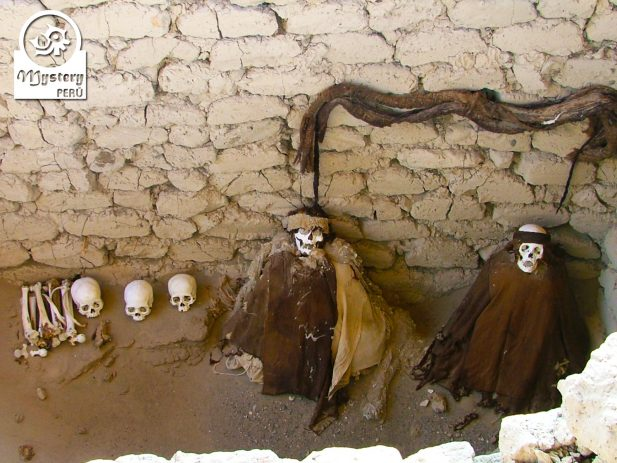 Mummies from the Chauchilla Desert.